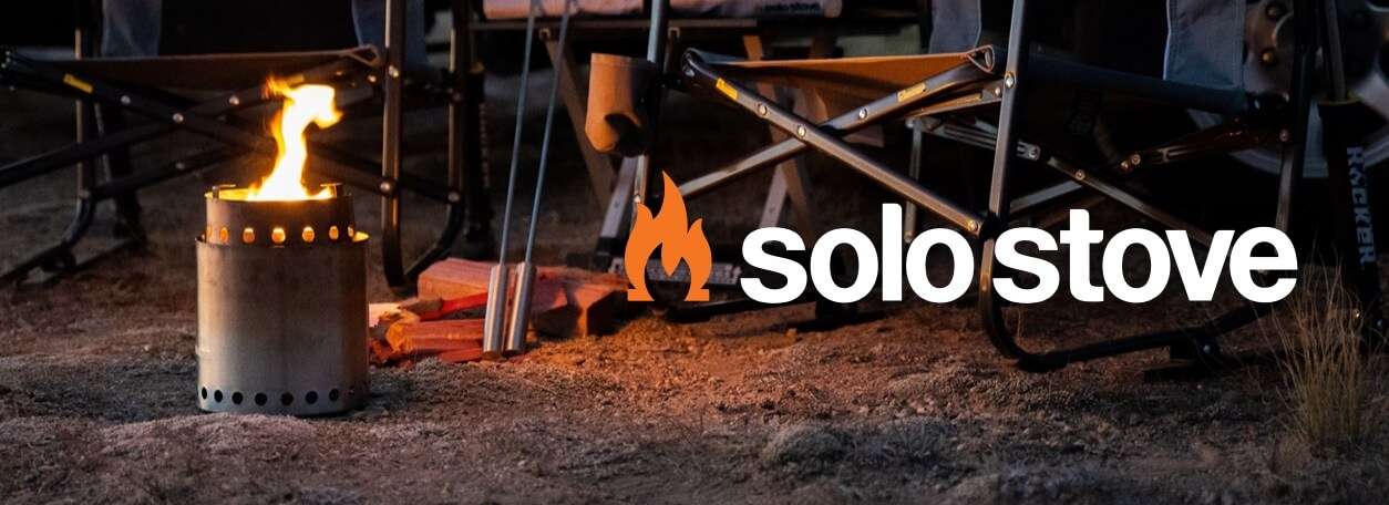 Solo Stove logo with background