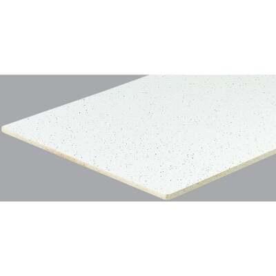 Radar Fissured 2 Ft. x 2 Ft. White Mineral Fiber Square Edge Suspended Ceiling Tile (16-Count)