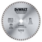 DeWalt High Performance 7 In. Turbo Rim Dry/Wet Cut Diamond Blade, Bulk Image 1
