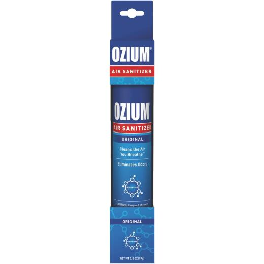 Ozium 3.5 Oz. Car Air Freshener/Sanitizer Spray, Original Scent