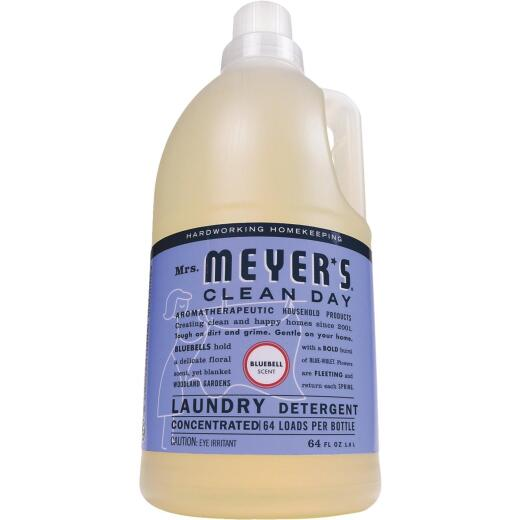 Mrs. Meyer's Clean Day 64 Oz. Bluebell Laundry Detergent Concentrate