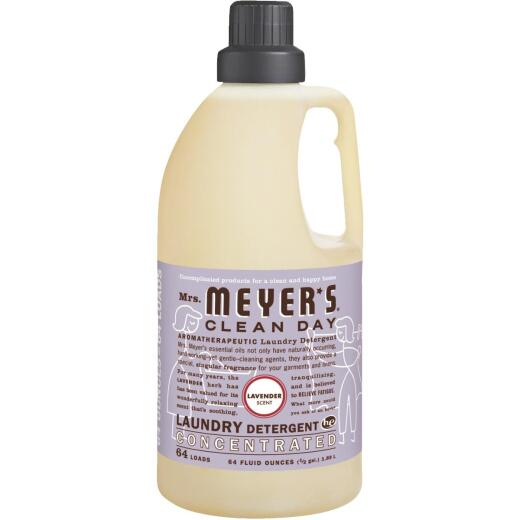 Mrs Meyer's Clean Day 64 Oz. Lavender Concentrated Laundry Detergent