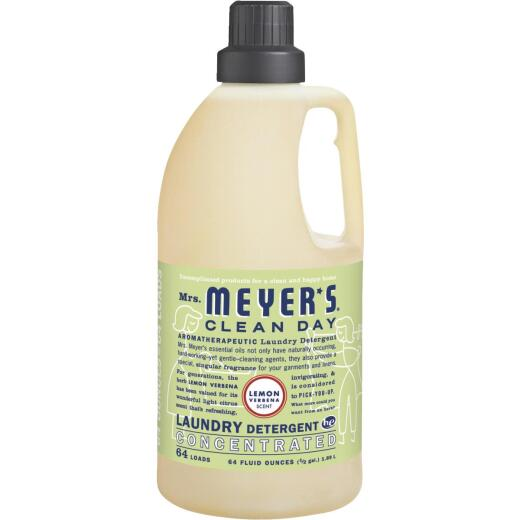 Mrs Meyer's Clean Day 64 Oz. Lemon Concentrated Laundry Detergent