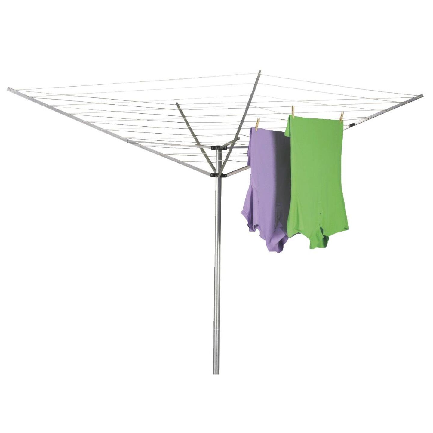 Household Essentials Sunline 73 In. x 72 In. 165 Ft. Drying Area Umbrella Style Clothes Dryer Image 1