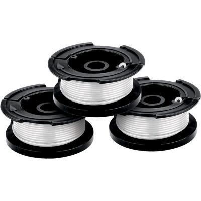 Black & Decker GrassHog 0.065 In. x 30 Ft. Trimmer Line Spool (3-Pack)