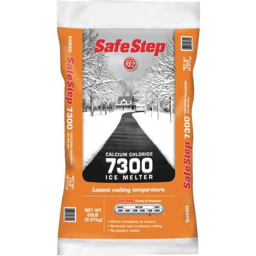 Safe Step 7300 20 Lb. Calcium Chloride Ice Melt Pellets