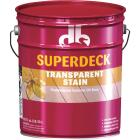 Duckback SUPERDECK VOC Transparent Exterior Stain, Heart Redwood, 5 Gal. Image 1